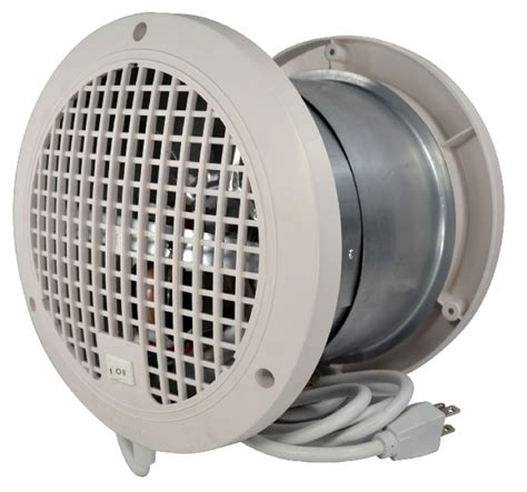 exhaust fan temperature switch thru wall room to room air transfer ventilation fan