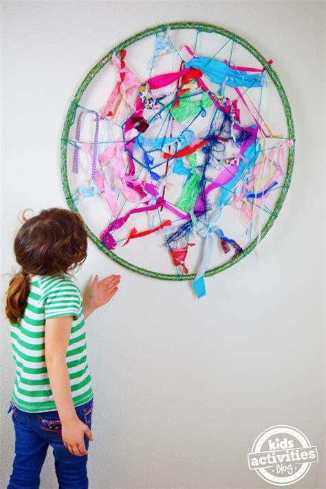 fabric crafts for children artful weaving craft