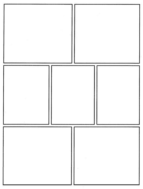 C I C S Bucktown Art Comic Template To Use Book Template