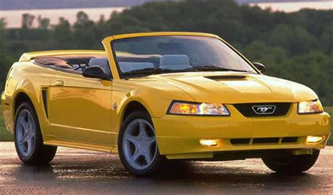 99 mustang specs 1999 ford mustang specifications