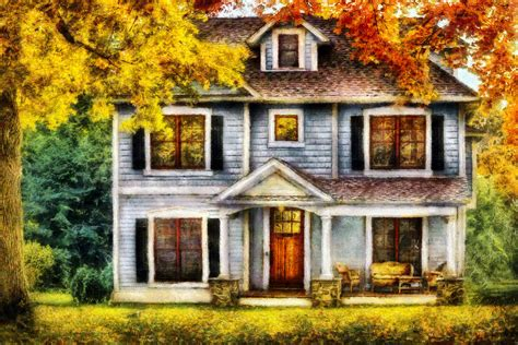 House Plans Small Cottage autumn house cottage photograph by mike savad