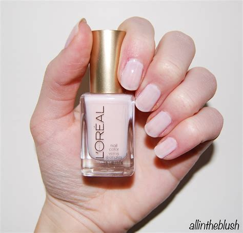 ballet slippers nail color dupe essie ballet slippers vs l oreal how nail