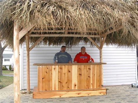Build Your Own Tiki Bar Hmilton Nj Jeff Had Purchased My Quot How To Build Your