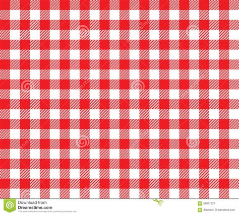 pattern quadriculado photoshop red table cloth background seamless pattern stock vector