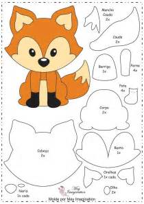 Templates For Sewing Animals by 25 Best Ideas About Fox Pattern On Felt Fox
