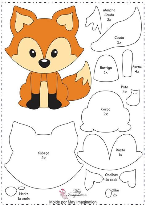 25 best ideas about fox pattern on pinterest felt fox