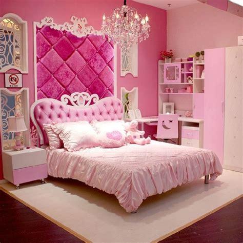 pink princess bedroom set ideas  teenage girls  queen size bed fancy bedrooms