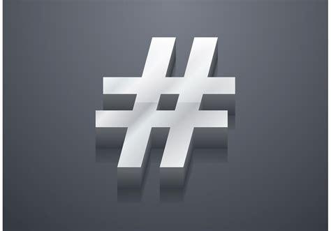 hashtag vector   vectors clipart