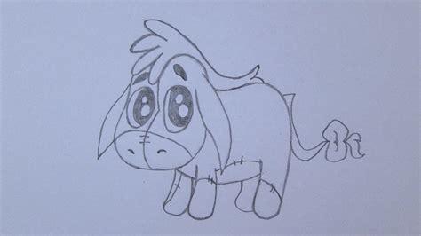 imagenes de winnie pooh para calcar c 243 mo dibujar a 205 gor eeyore de winnie the pooh youtube