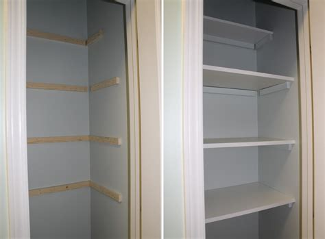 Wood Closet Shelf by Building Wood Shelves In A Closet Mpfmpf Almirah