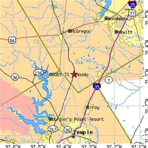 eddy texas map moody texas tx population data races housing economy