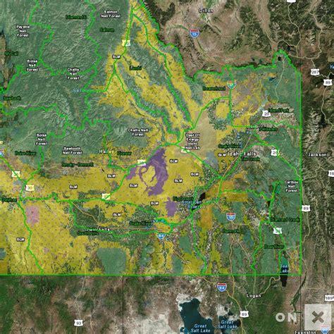 idaho hunt unit map idaho management unit snake river elk