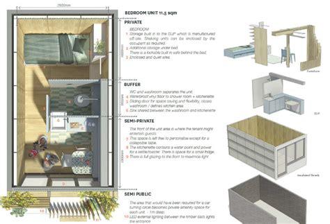 corporate housing levitt bernstein s pop up hawse proposal transforms london s unused garages into