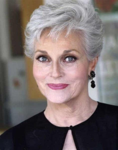 gray haircuts for 60 year olds short hair styles for women over 60 the best short