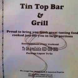 tin top bar and grill american new tonopah az yelp