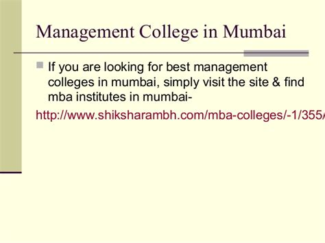 Best Institute For Mba In Mumbai by Top Mba Colleges In Mumbai Shiksharambh