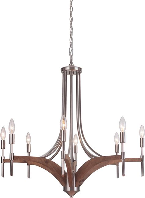 Whiskey Barrel Chandelier Jeremiah 40328 Bnkwb Tahoe Brushed Nickel Whiskey Barrel Chandelier Light Jer 40328 Bnkwb
