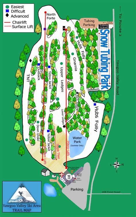 map of us ski area yawgoo valley ski area skimap org