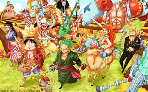 one picec one wallpaper after 2 year straw hat crew