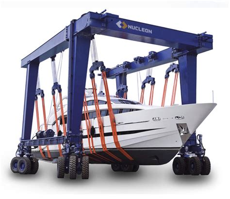 boat lift brands nucleon brand boat lift gantry crane boat lifting crane