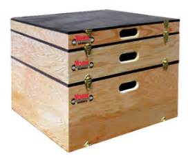 department plyo boxes