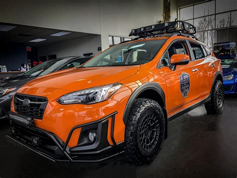 subaru crosstrek lifted crosstrek lift kit gallery ct subaru attention to detail