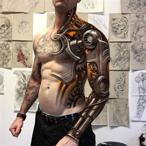 bionic tattoos this year s 60 most amazing designs for