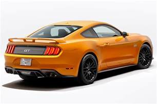 Ford Mustang 2018 Ford Mustang Look Refresh Since Ponycar
