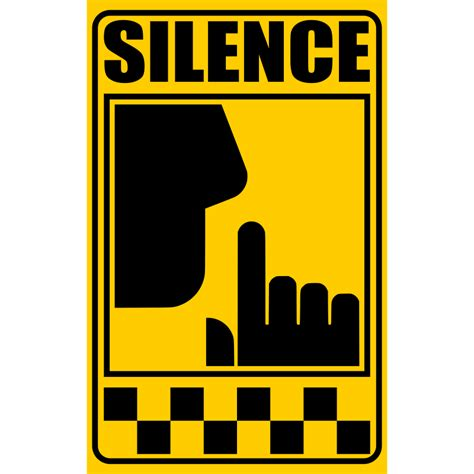 Livingroom Pictures Clipart Signal Of Silence Yellow
