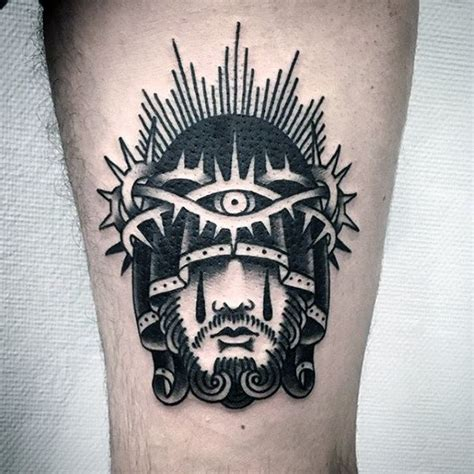 traditional jesus tattoo 50 jesus forearm designs for ink ideas