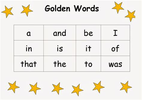 Golden Words by Magic Words List Www Pixshark Images Galleries