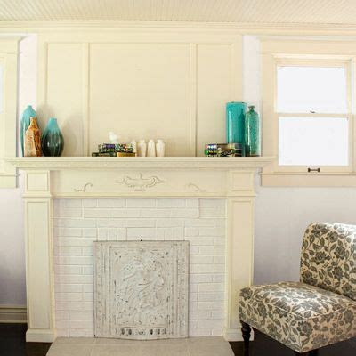 How To Spruce Up A Brick Fireplace by Inspiring Home Spruce Ups On A Shoestring Budget