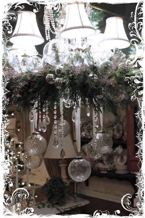christmas home decor vintage chandelier 1000 ideas about christmas chandelier decor on pinterest