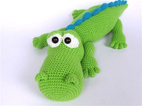 amigurumi alligator pattern crocodile alfred amigurumi crochet pattern