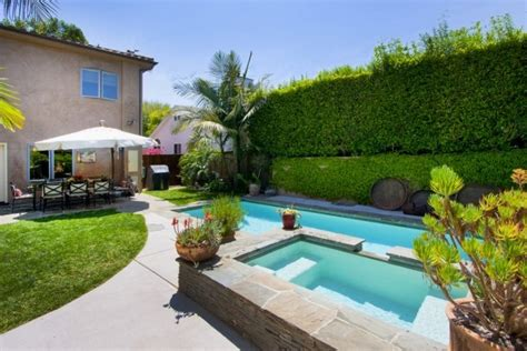 The Backyard Los Angeles The Backyard Pool And Tub Spa In Our Los Angeles