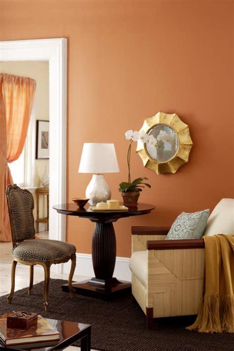 benjamin moore living room colors orange