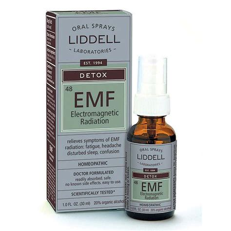 How Do You Detox From Elc Ectro Magnetic Fields by Liddell Laboratories Detox Efm Electromagnetic Radiation