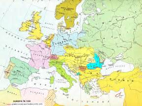 Europe Map 1900 by Historical Map Of Europe At 1900