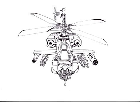 coloring pages apache helicopters apache helicopter drawing colouring page apache