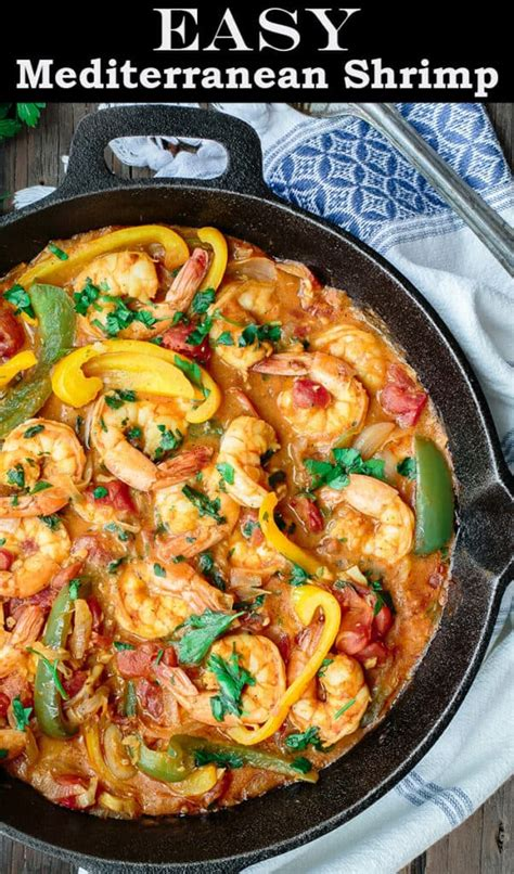 easy shrimp recipe mediterranean style video