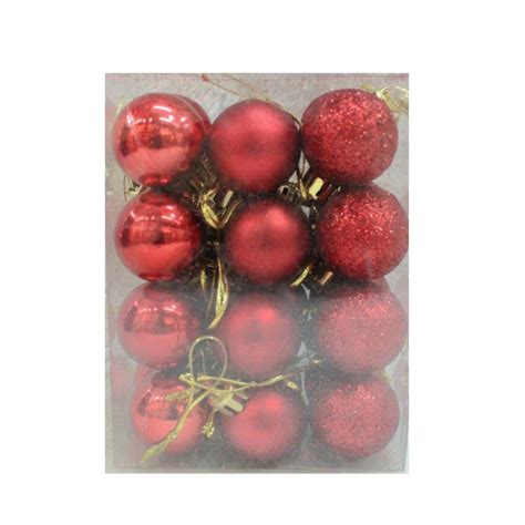 24pcs balls hanging decor tree hanging