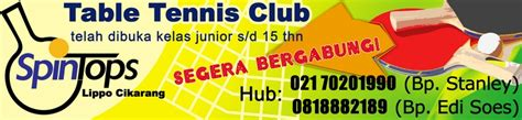 Meja Pingpong Cikarang spintops table tennis club by rndesign on deviantart