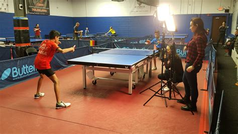Visitors From New York Times Table Tennis Chicago