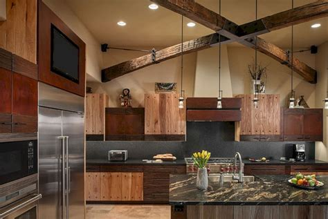 rustic modern kitchen ideas 16 modern rustic kitchen designs design listicle
