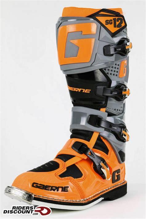 gaerne sg12 motocross gaerne sg 12 motocross boots riders discount