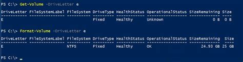 format hard drive powershell how to manage hard disk with powershell technig