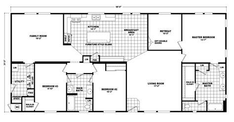 the pecan valley iii hi3268a manufactured home floor plan the pecan valley iii hi3268a manufactured home floor plan