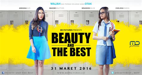 film indonesia 2016 film indonesia 2016 review film kisah cinta remaja ala beauty and the best