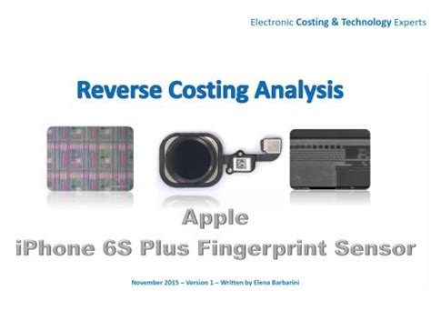 reverse costing analysis report  apples iphone