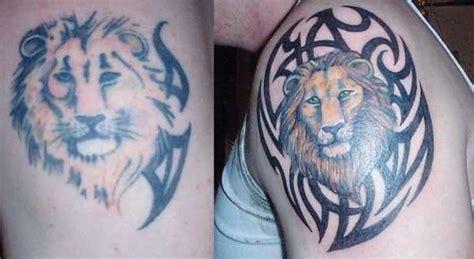 tattoo fixers logo lion fix up tattoo